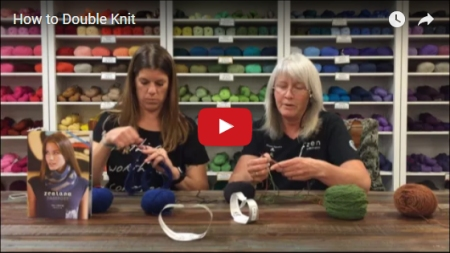 video tutorial - Double Knitting