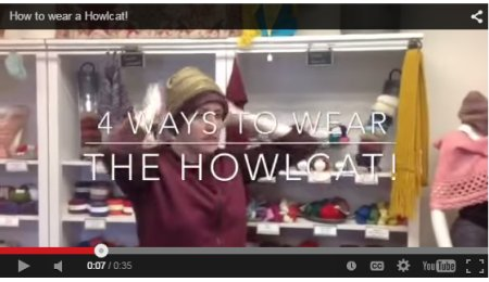 How to wear a Howlcat