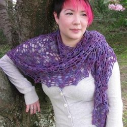 Ice Drift Shawl