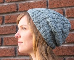 Jenny's Hat in Swans Island's All American Worsted