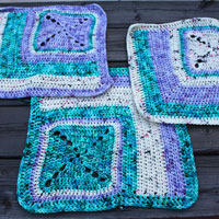 Tosh Blanket in knit and crochet