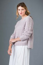 Sublime Extra Fine Merino DK Lace Texture Pullover