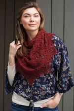 Road to China Lace Crocheted Fall River Shawl Kit
