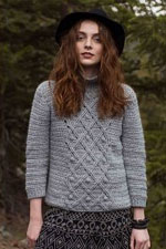 HiKoo Kenzie Crocheted Pinyon Pullover