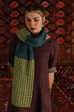 Shibui Knits Pebble and Silk Cloud Aubusson Scarf