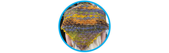 Klara's Triangular Shawl Project Log