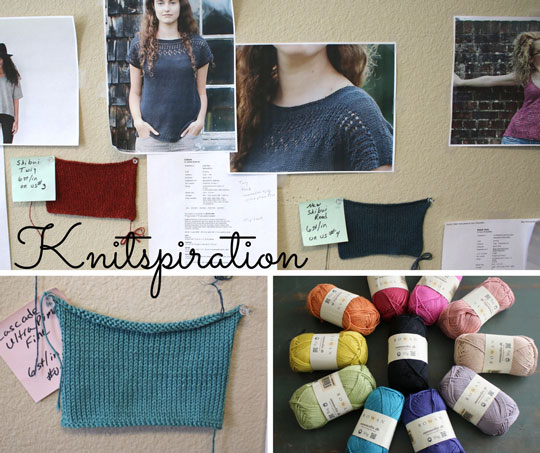 April 2017 Knitspiration