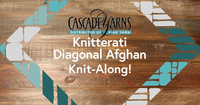 Knitterati Diagonal Afghan 2019