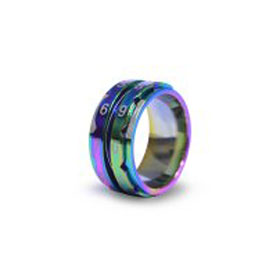 Knitter's Pride Row Counter Ring Rainbow - Size 9