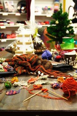 Santa's Knitting Workshop