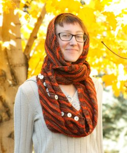 The Sweet Potato Cowl