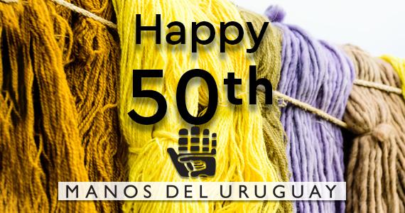 Manos Del Uruguay 50 year anniversary