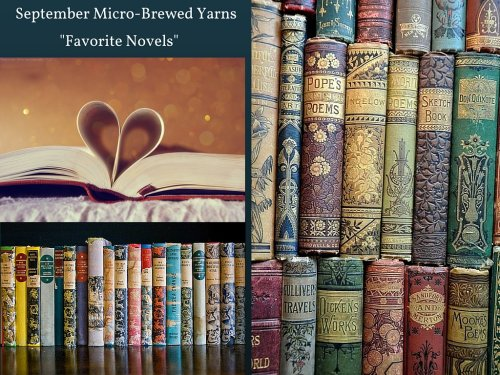 Micro-brewed yarns inspired by books