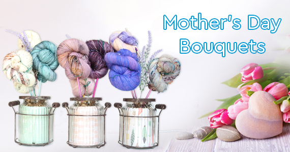 Jimmy Beans Wool Mother's Day Bouquets
