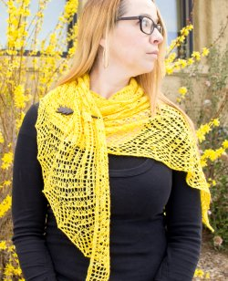 Branching Out Shawl