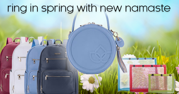 New Spring Namaste Colors and Namaste Circle Bags