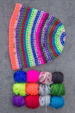 Modicum Hat in colorway Neon