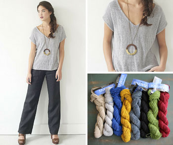 Odele by Amy Christoffers (featured in Berroco #368 Mykonos Pattern Collection)