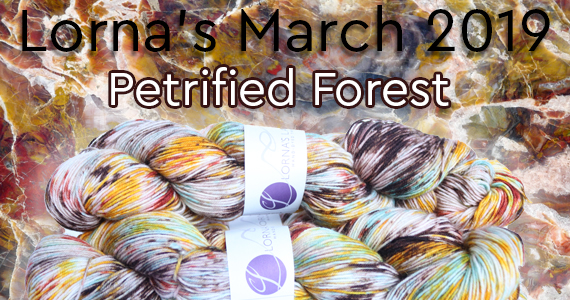 Lorna's Laces Limited Edition Petrified Forest
