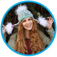 Cassidy's Pom Bomb Hat