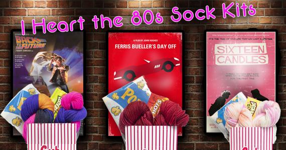 Lorna's Laces I Heart the 80s Sock Kits