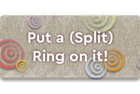 Put A Split Ring On It Button