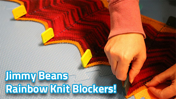 Jimmy Beans Rainbow Knit Blockers