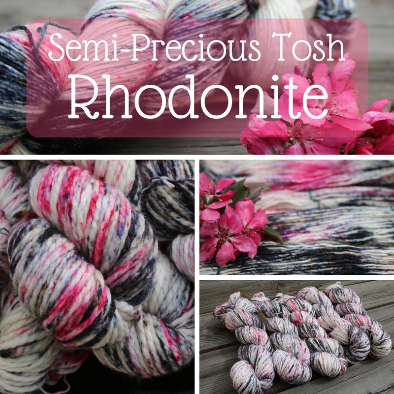 Semi-Precious Tosh : Rosy Rhodonite