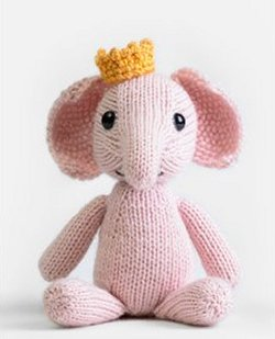 Royal Petite Knit Kit - Elephant