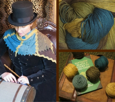 Scamander shawl pattern