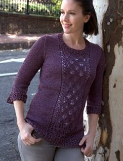 Sesia Kreo - Lace Panel Pullover
