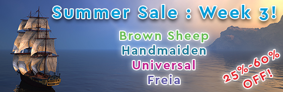 Summer Sale Week 3!