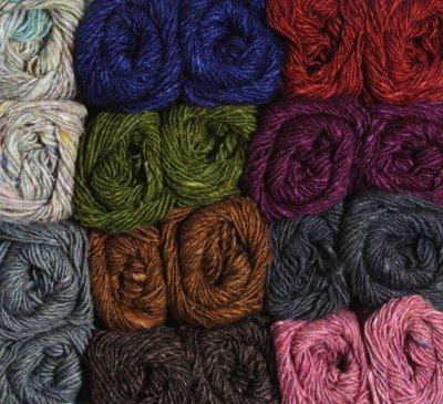 Lots of colors in Silk Garden Solo