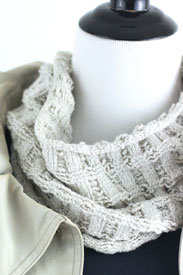 Feel Good Yarn SilverSpun Silver Storm Cowl