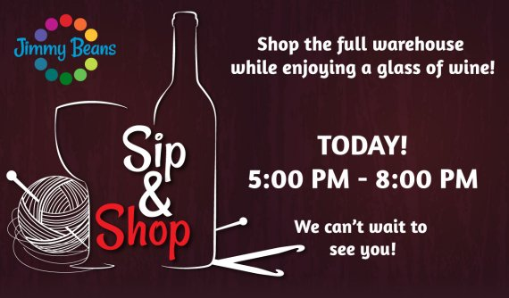 Sip and Shop the Warehouse!