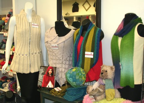 Trunk Show with Skacel and Hikoo yarns
