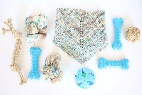 snow dog shawl kit