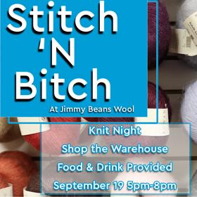 Stitch 'N Bitch Retail Event