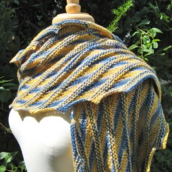 The Wizard shawl pattern
