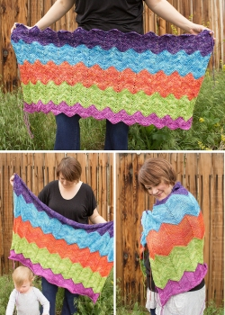 Toshstrology Blanket pattern