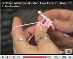 How to Tunisian Crochet