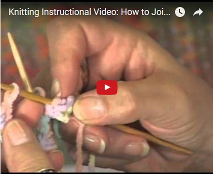 How to join in the round for knitting