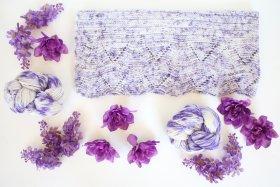 violeta vivida shawl kit