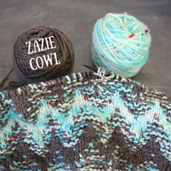 picture of zazie cowl yarn