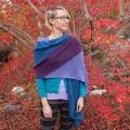 Leanne's Colorblock Bias Wrap