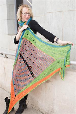 Color Craving Shawl