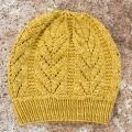 Kristen's Golden Aquarius Hat