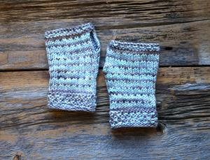 Slipped Stitch Handwarmers