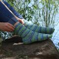Universal Yarn's Bamboo Pop Socks photo