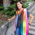 Amy's Polychroma Scarf photo